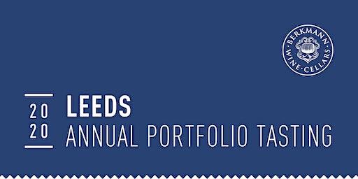 Leeds 2020 Annual Portfolio Tasting