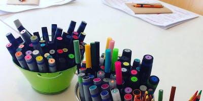 """""""Zeichnen am Flipchart leicht gemacht"""" - Visualisierungworkshop"""