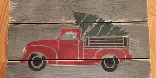 Holiday Paint n Sip at Great Falls Brewing Company