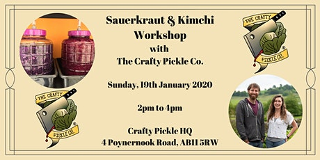 Sauerkraut & Kimchi Master Class with The Crafty Pickle Co. tickets
