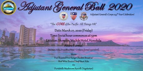 Adjutant General's Ball 2020 tickets