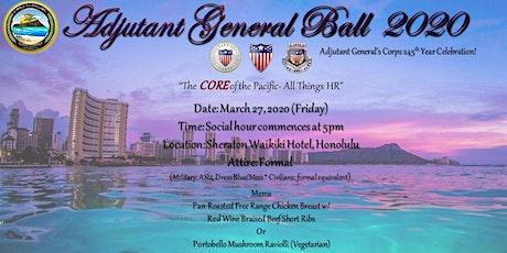 Adjutant General's Ball 2020 tickets