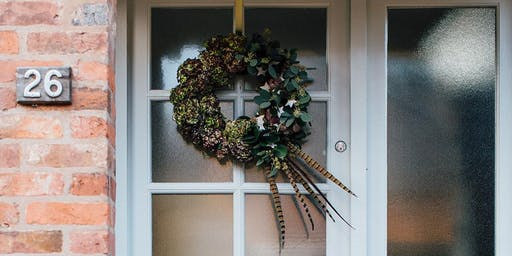 Wreath Making Workshop at Joules of Bath