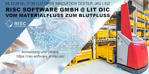 RISC Software GmbH @ LIT OIC | Vom Materialfluss zum Blutfluss