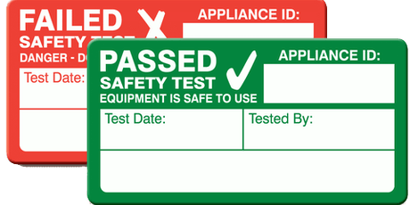 PAT Testing (Portable Appliance Testing) tickets
