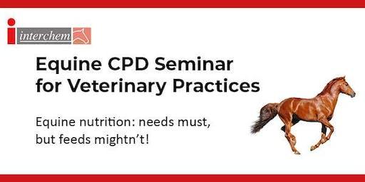 Interchem CPD Equine Seminar for Veterinarians