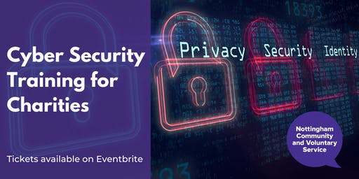 Cyber Security Training for Charities