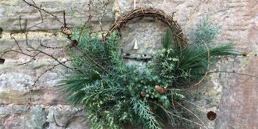 PYRUS festive wreath workshop at Lovecrumbs