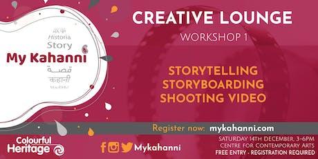 Workshop 1 - Storytelling & storyboarding  [Weekend Session] tickets