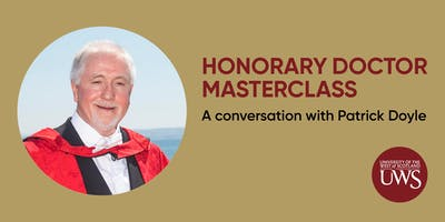 Honorary Doctor Masterclass - Conversation with Patrick Doyle