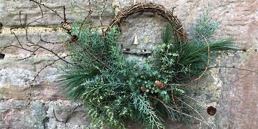PYRUS wreath workshop at Custom Lane with Lovecrumbs!
