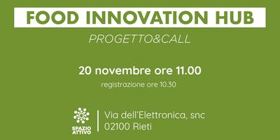 Food Innovation Hub - Rieti