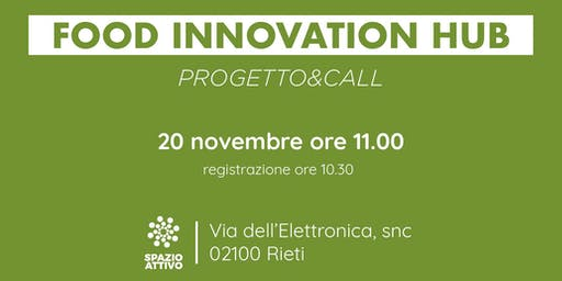 Food Innovation Hub - Rieti
