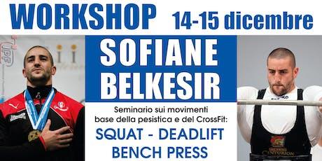 Workshop Sofiane Belkesir biglietti
