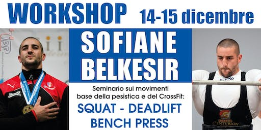 Workshop Sofiane Belkesir