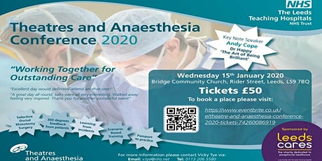 Theatre and Anaesthesia Conference - 2020 tickets