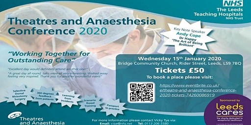 Theatre and Anaesthesia Conference - 2020