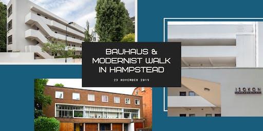 Bauhaus & Modernist Walk in Hampstead