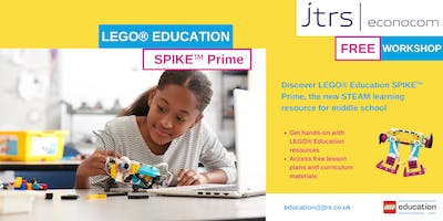 Exclusive workshop LEGO® Education SPIKE™ Prime - Cheadle