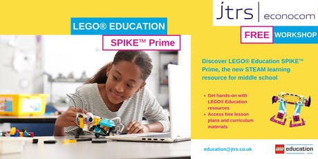 Exclusive Workshop: LEGO® Education SPIKE™ Prime - Cheadle tickets