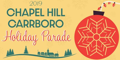 2019 Chapel Hill Carrboro Holiday Parade