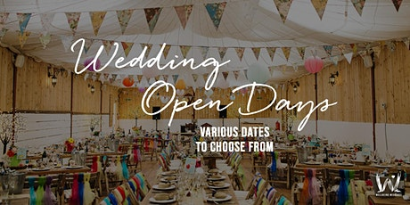 The Wellbeing Farm Wedding Open Days  tickets