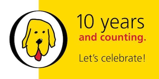 Celebrate 10 Years + Holidays with yellowDog : creative