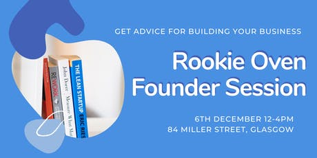 RookieOven Founder Sessions December tickets