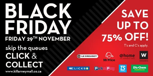 Killarney Mall Black Friday