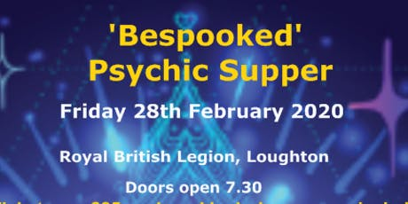 Bespooked Psychic Supper tickets