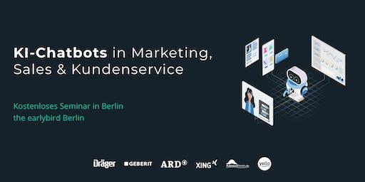 KI-Chatbots in Marketing, Sales & Kundenservice|SEMINAR |Berlin