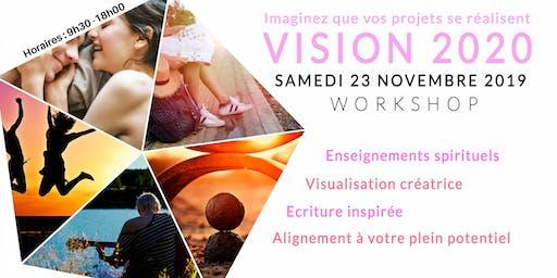 Workshop Vision 2020 : imaginez que vos projets se réalisent