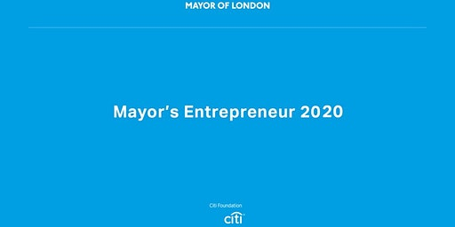 Mayor's Entrepreneur Workshop 1