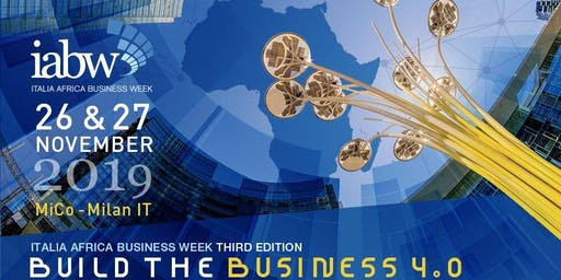 Italia Africa Business Week Area Expo