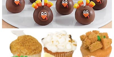 Children's Thanksgiving Cake Pop/Cupcake Decorating Class