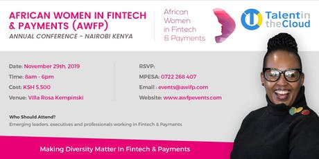 AFRICAN WOMEN IN FINTECH & PAYMENTS CONFERENCE-NAIROBI tickets
