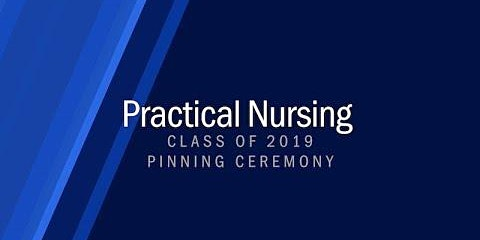 2019 Practical Nursing Pinning Ceremony
