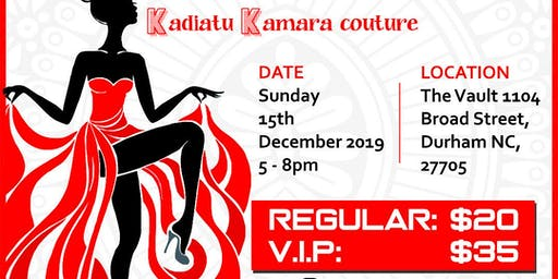 Unveiling of Kadiatu Kamra couture