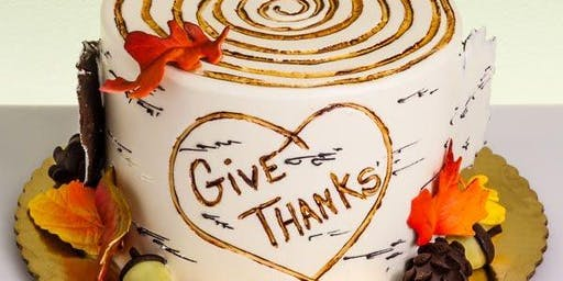 Adult  Thanksgiving Cake decorating Class