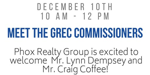 Meet the Real Estate Commissioner @ Phox Realty Group!