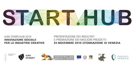 START.HUB 2019 - Evento finale biglietti