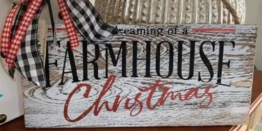 December Ladies Night - I'm Dreaming of a Farmhouse Christmas Class