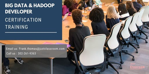 Big Data and Hadoop Developer 4 Days Certification Training in Thompson, MB