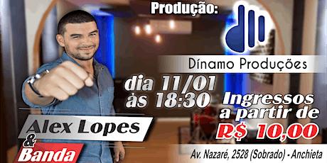 Alex Lopes na Dinamo ingressos