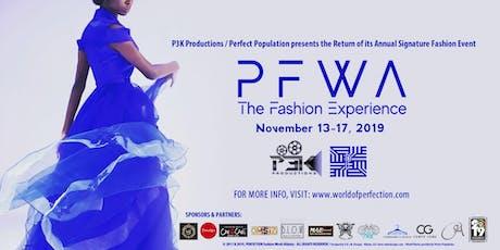 Perfection Fashion Week Atlanta 2019 tickets