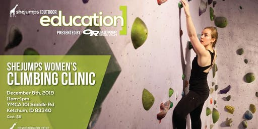 ID SheJumps Women's Climbing Clinic