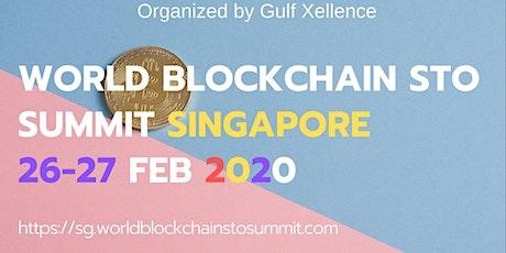 World Blockchain STO Summit Singapore tickets