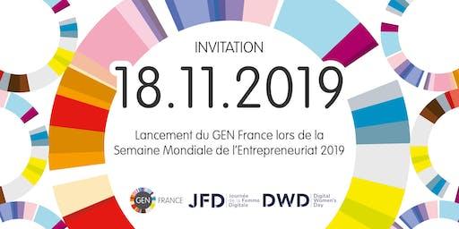 Lancement du GEN France lors de la Semaine Mondiale de l'Entrepreneuriat