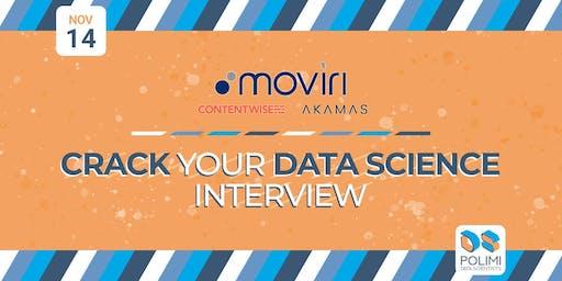 Crack your Data Science interview @Moviri