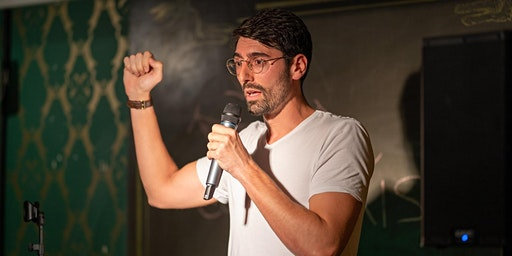 Comedy Kiss' Open Mic at the Impact Hub, 18 December
